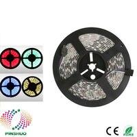 (8 шт./лот) 5 м 300 60leds/M IP65 Водонепроницаемый Гибкая 5730 Светодиодные ленты RGB 5630