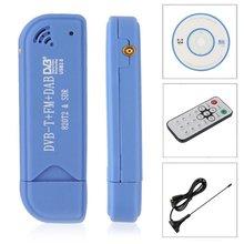 USB 2,0 программного обеспечения радио DVB-T RTL2832U + R820T2 SDR цифровой ТВ приемник Придерживайтесь Технология с удаленным Управление и антенны