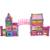 Castillo de formación temprana juguete magnético imanes del coche stick enlighten building block niños niños educación juguetes de aprendizaje 268 unids