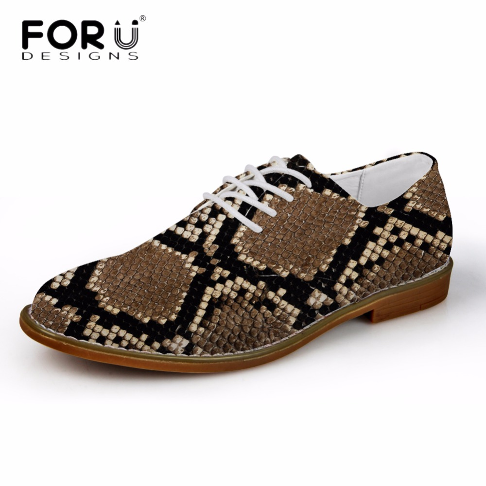 FORUDESIGNS 2018 Men's Casual Oxfords Shoes Fashion Serpentine Design Men High Quality Synthetic Shoes Leather Flats Oxford Man 2017 hot sale men shoes suede leather big size high quality fashion men s casual shoes european style mens shoes flats oxfords