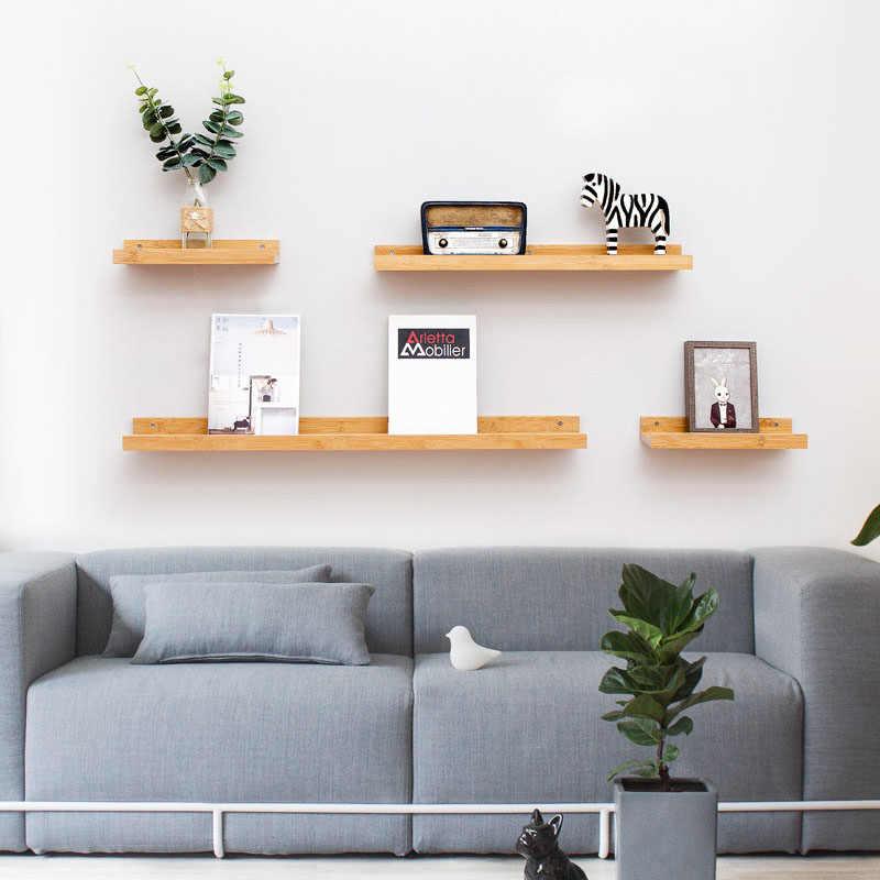 Actionclub Home Decor Wall Storage Shelf Diy Wood Storage Shelf Kids