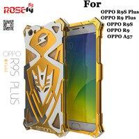 Brand Zimon For OPPO R9S Phone Cases Simon Full Body Anti Knock Metal Aluminum Cover Case