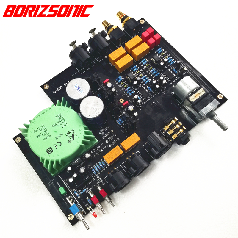 Portable Audio & Video Fully Balanced Headphone Power Amplifier Board Tpa6120 Balanced Rca Input /balance 6.35 Output Free Shipping
