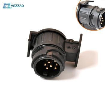 12 В от 13 до 7 контактный разъем адаптер Электрический конвертер грузовик прицеп разъем BD авто аксессуары