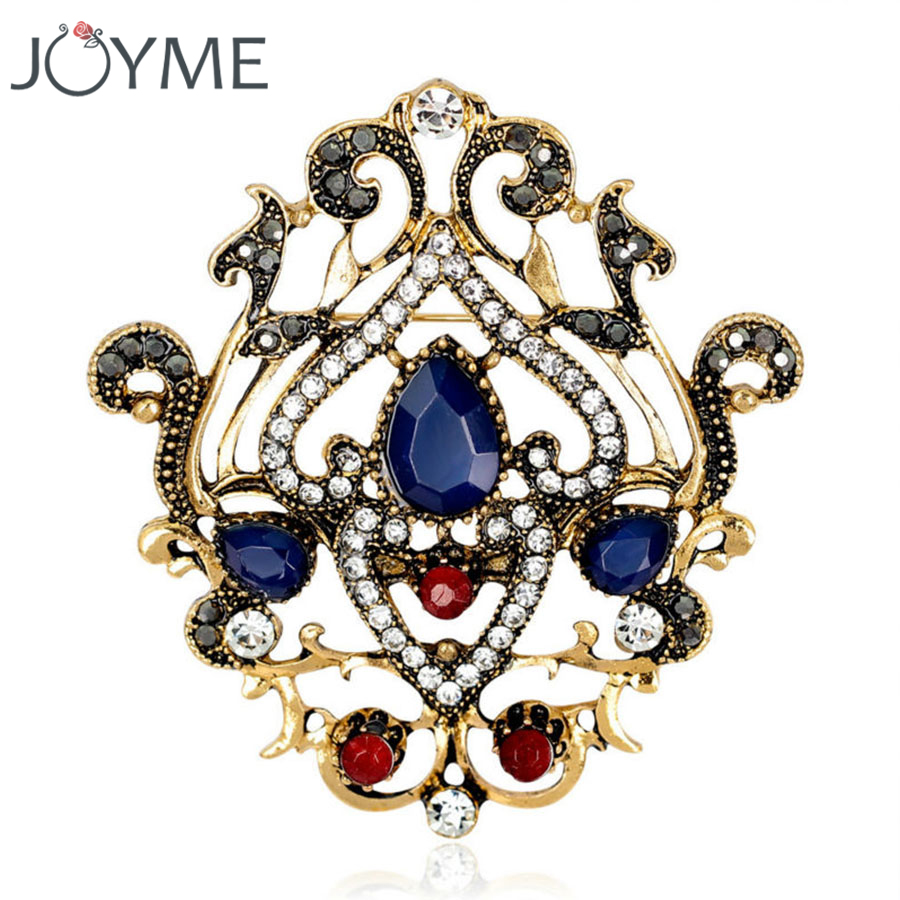 420112caa9456 US $3.73 25% OFF|Acrylic Badges Big brooches For Dresses Collar Accessories  Original Upscale Flower Decoration Lady Jewelry sparkly brooches Pins-in ...