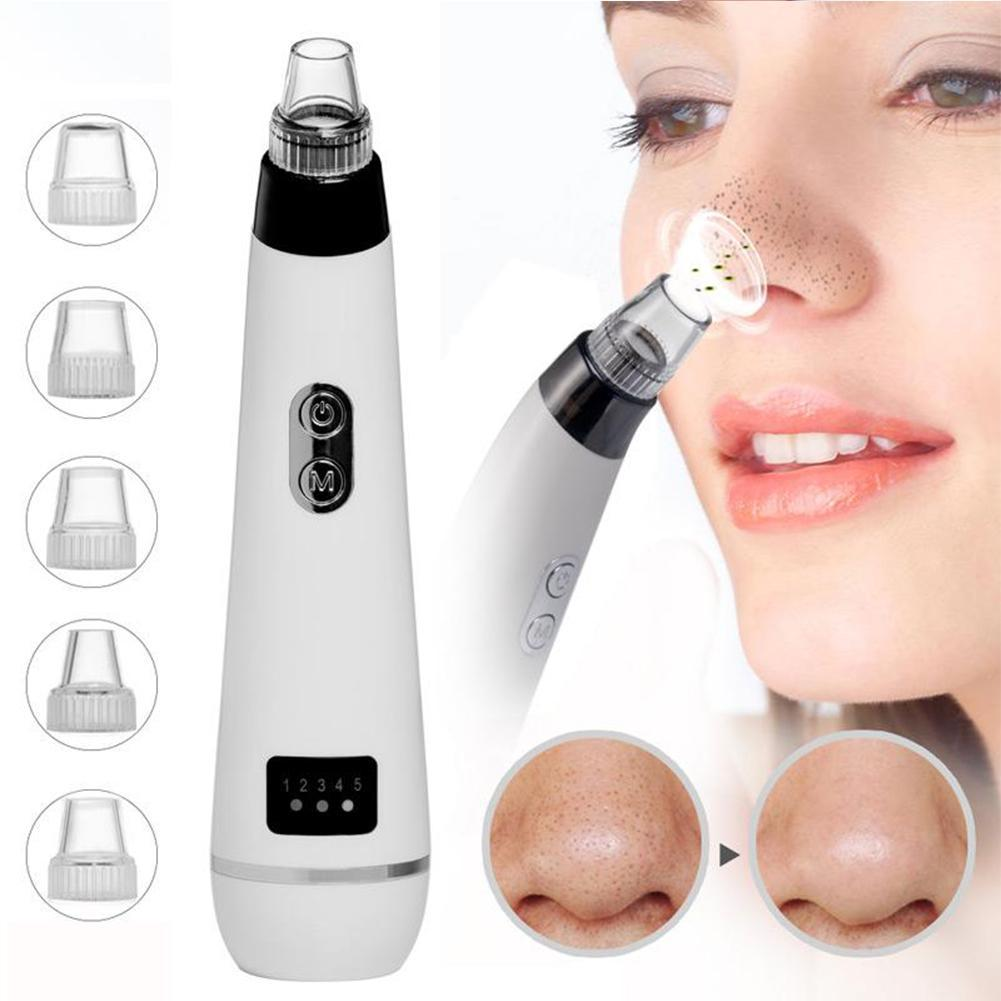 Blackhead Deep Clean Machine Skin Care Face Pore Acne Pimple Removal Vacuum Suction Facial Beauty Tool