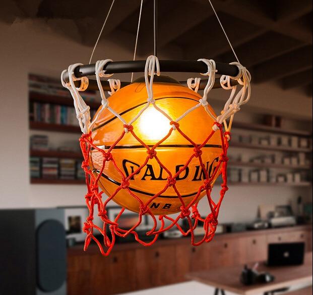Créatif acrylique basket Vintage Loft pendentif lumières personnalité suspendus luminaires pour la maison éclairages lampara Colgantes - 2
