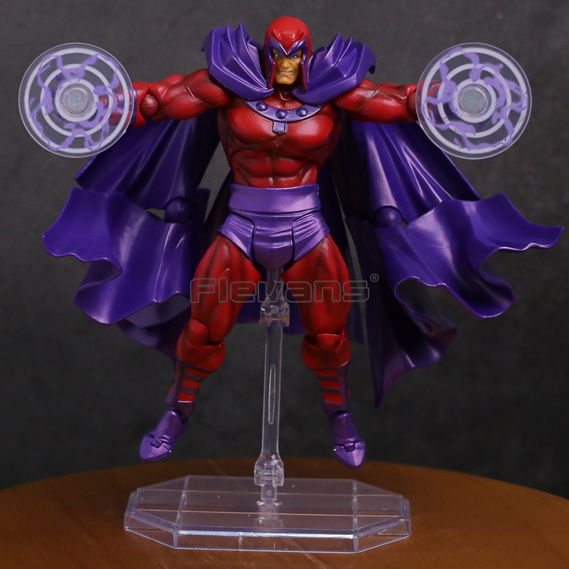 Revoltech Series NO.006 Magneto PVC Action Figure Collectible Model Toy 14.5cm neca planet of the apes gorilla soldier pvc action figure collectible toy 8 20cm