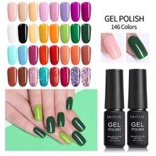 LILYCUTE 7ml Nail UV Gel Polish Long Lasting Pure Nail Colorful Soak off UV Gel Nail Art Decoration Gel Varnish Manicure Design цены онлайн