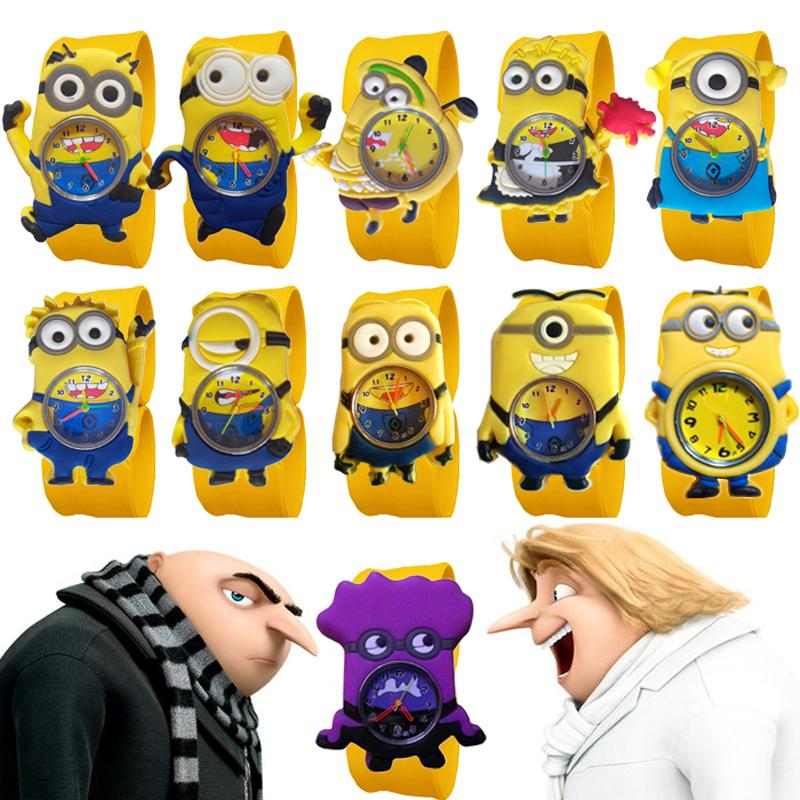 3D Cartoon Watches  Good Quality Slap Watch Boys Silicone Clap Wristwatch Baby Girls Boys Kids Watches