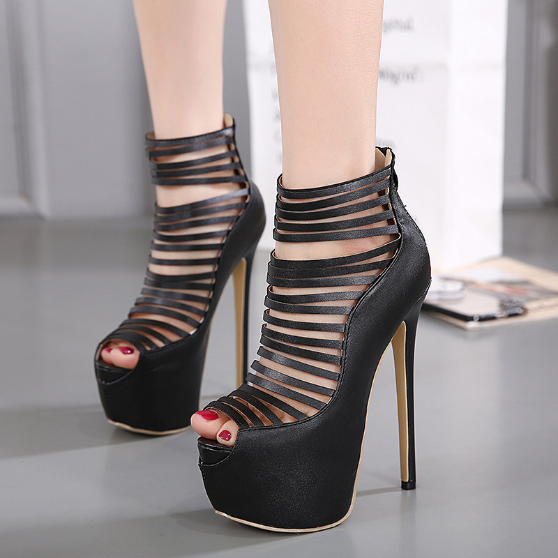 Online Get Cheap Sexy Strappy High Heels -Aliexpress.com | Alibaba ...