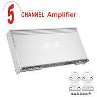 3000W Aluminum Alloy High Power Car Amplifier 8 Ohm 5 Channel Car Audio Power Amplifier Auto
