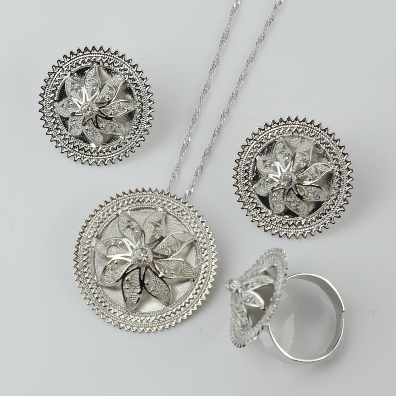 Necklace Earring Ring Sets 2017 Latest Design Fashion