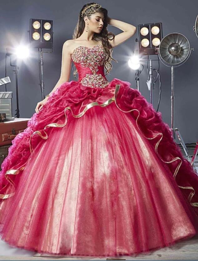 Vestido de 15 anos vestido de debutante vestido de novia caliente ...