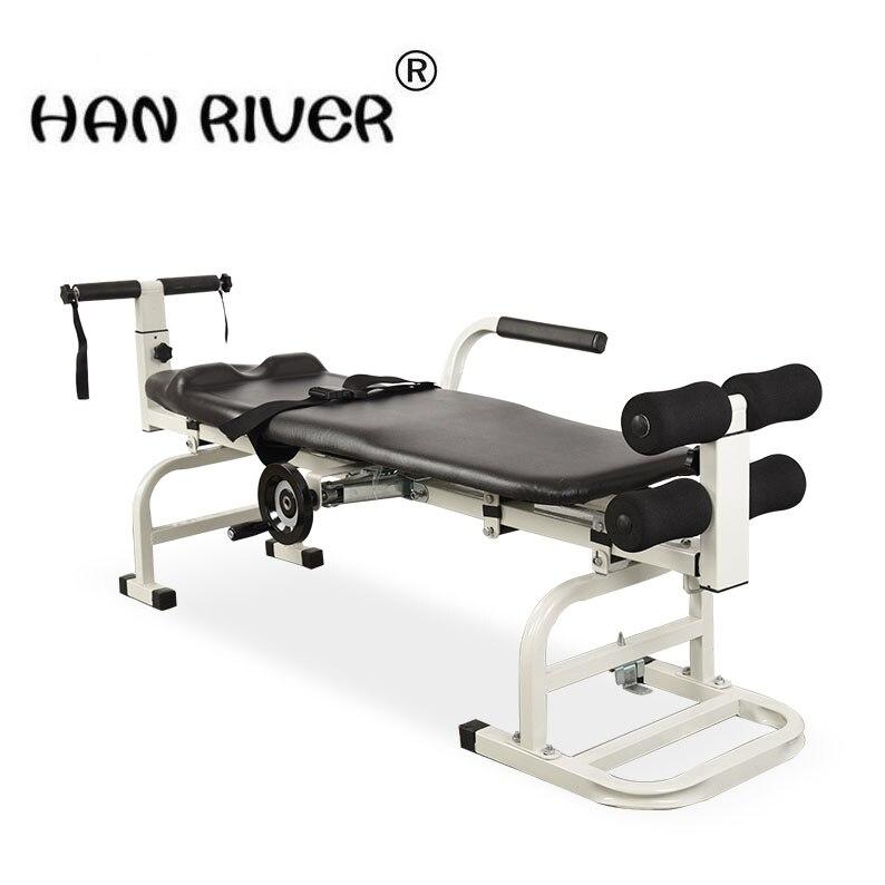 Ménage cou lombaire hernie discale vertèbre cervicale tracteur lit à traction corps tracteur pliage