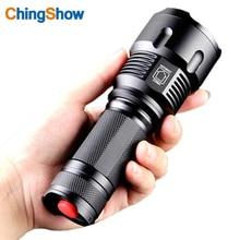 Новый 9 Стиль Тактический светодиодный фонарик Cree T6 4000 люмен Увеличить Водонепроницаемый Torch Light использовать 18650 26650 включая батарею и зарядное устройство
