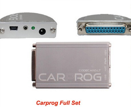 ФОТО New Carprog V7.28 ECU Chip Tunning for Car Radios, Odometers, Dashboards, Immobilizers Repair With Three Years Warranty