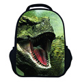 12Inch 3D Animals Backpack Children School Bags for Girls and Boys,Dinosaur Printing Backpack Kids, Crazy Horse Bagpack Mochila
