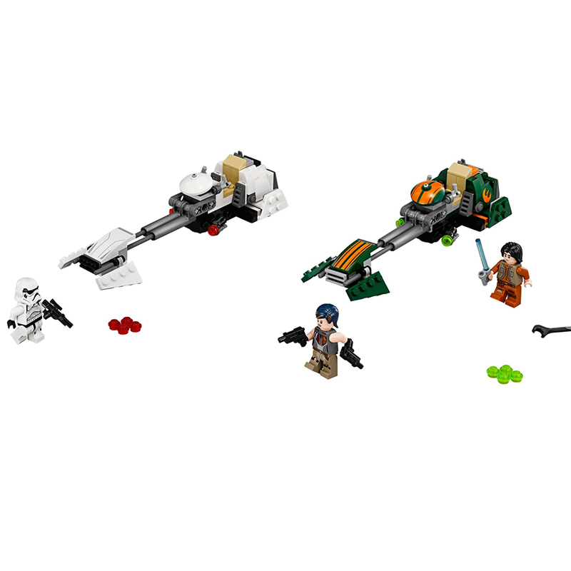 Bela 10369 Flash Speeder building bricks blocks Toys for children boys Game Plane Weapon Compatible with Decool Lepin 75090 lepin 22001 imperial flagship building bricks blocks toys for children boys game model car gift compatible with bela decool10210