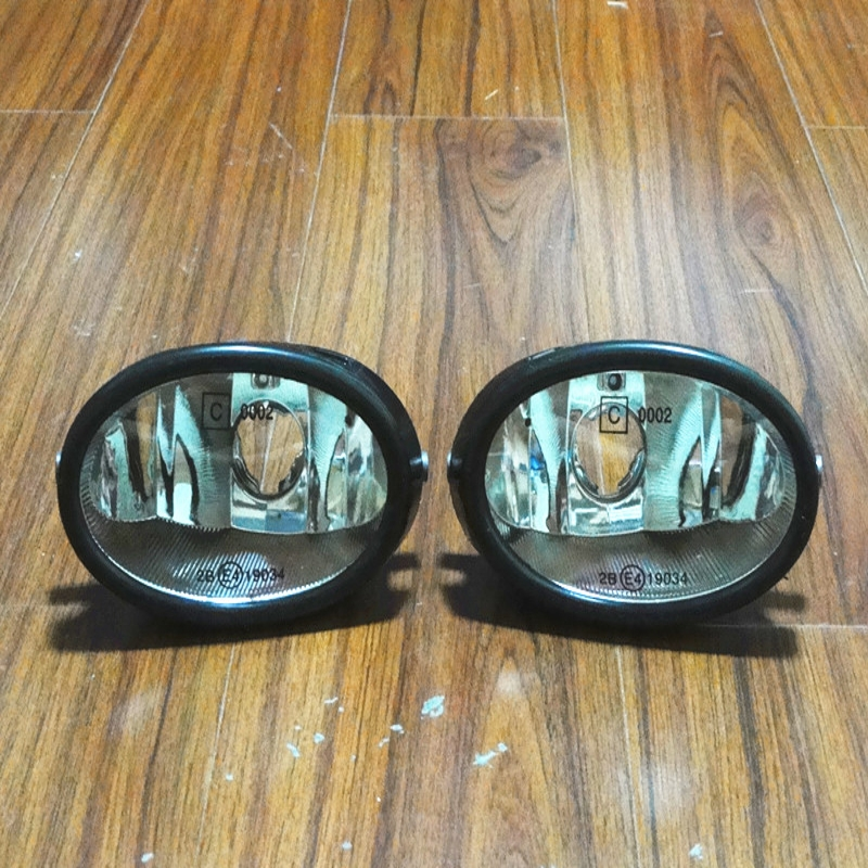 1Pair Fog Lights Front Driving Fog Lamps Without Bulbs For Honda Civic 2001-2003 1pair lh rh bumper driving lights front fog lamps for honda civic 2014 2015