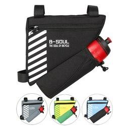 Треугольная велосипедная сумка, велосипедная Передняя сумка, велосипедная Рама, Сумка с верхней трубкой, Аксессуары для велосипеда, 4 вида ц...