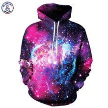Mr.1991inc neue männer/frauen 3d sweatshirts mit hut digitaldruckraum galaxy mit kapuze hoodies herbst winter thin hoody tops