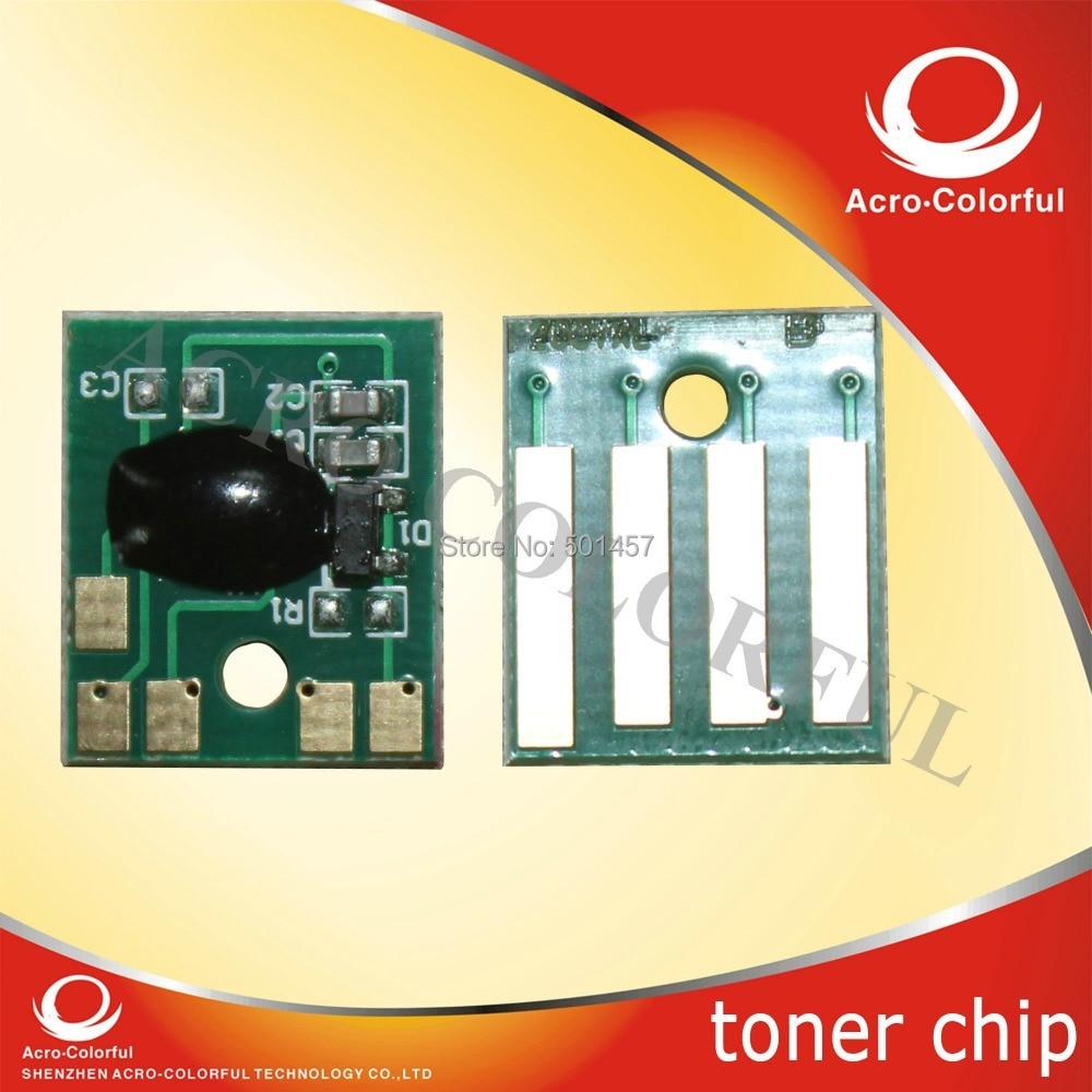 цены на Black printer toner chip for Lexmark MX710 MX711 MX810 MX811 MX812 reset cartridge chip with yield page 6K