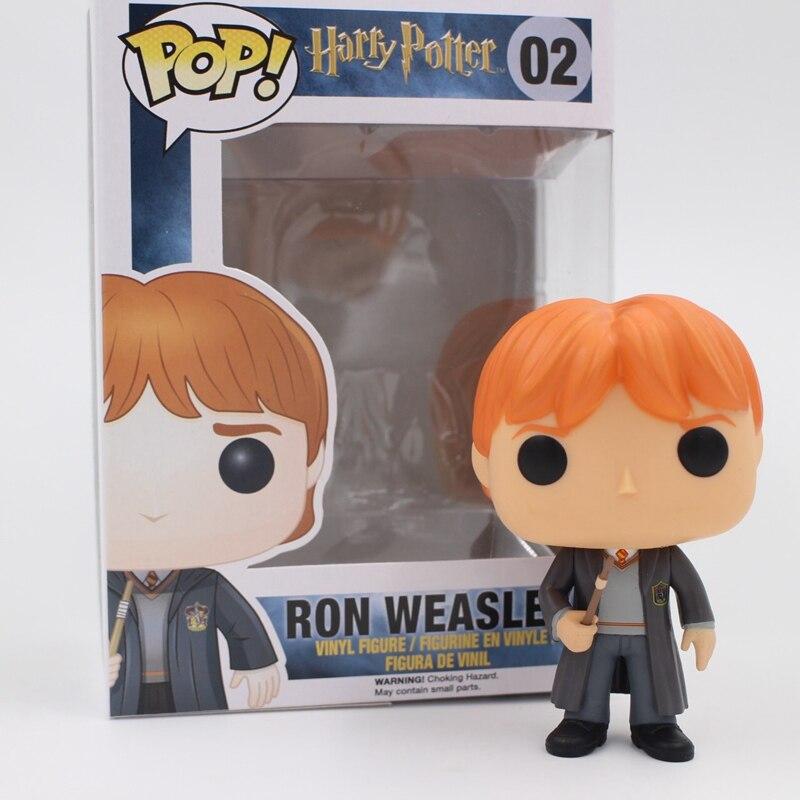 Funko pop Original Harry potter - Ron Weasley <font><b>Action</b></font> <font><b>Figure</b></font> Hot Movie Collectible Vinyl <font><b>Figure</b></font> Model Toy with Original box