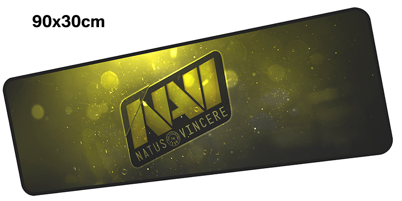 natus vincere mousepad gamer 900x300X3MM gaming mouse pad large Christmas notebook pc accessories laptop padmouse ergonomic mat