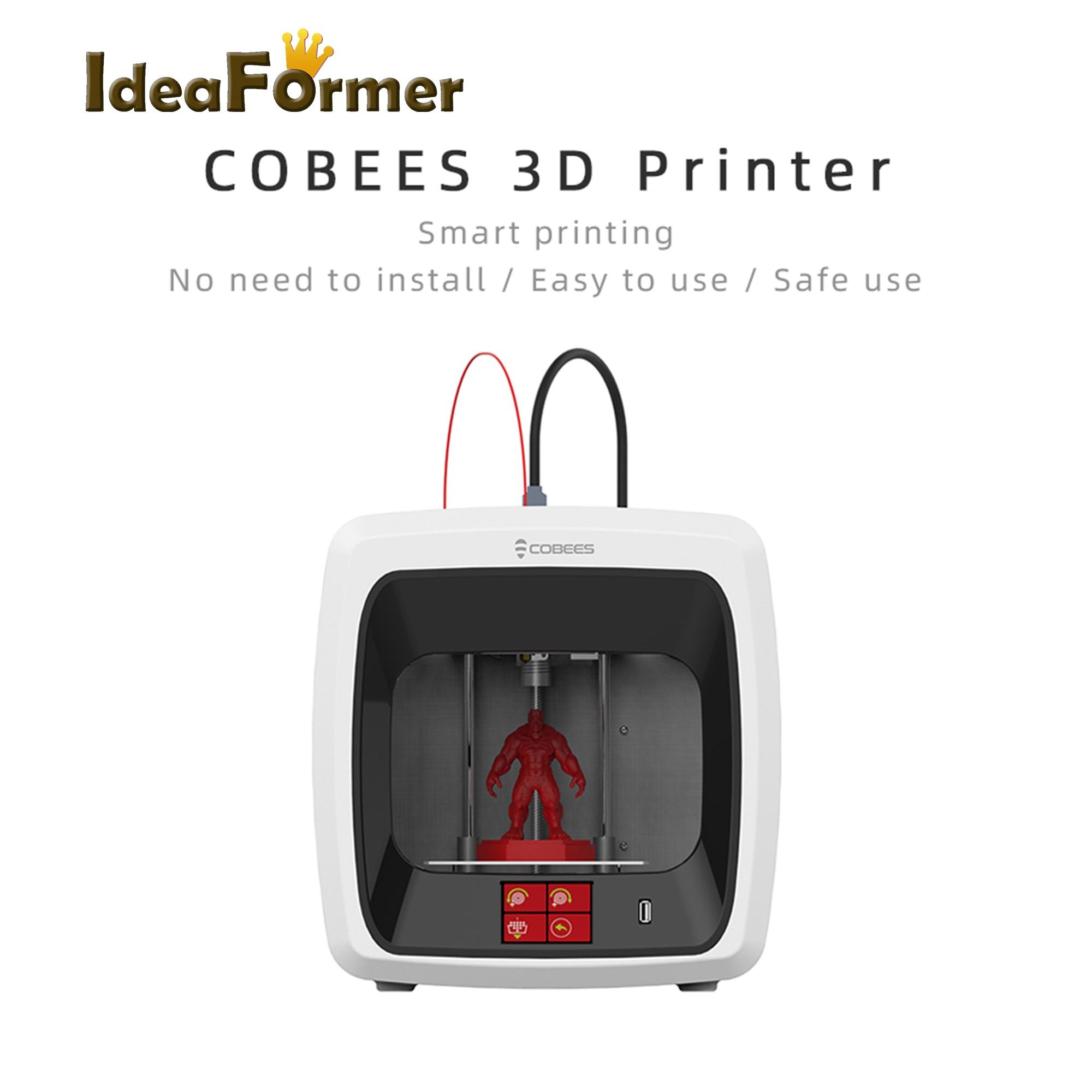 Ideaformer drukarka 3D cobees desktop CoreXY struktura wysoka precyzja easyuse Mini FDM drukarka 3D dla dzieci prezent edukacja i rodzina