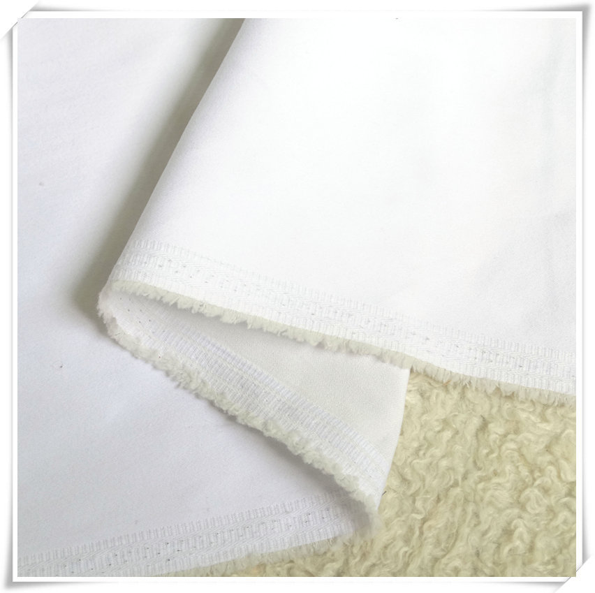 High stretch denim fabric white cloth wholesale fabric for Cheap clothing material