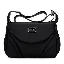 Women Messenger Bags Female Handbags Travel Fashion Small Hobos Dumpling Crossbody Bags Ladies Nylon Shoulder Bags Casual Tote