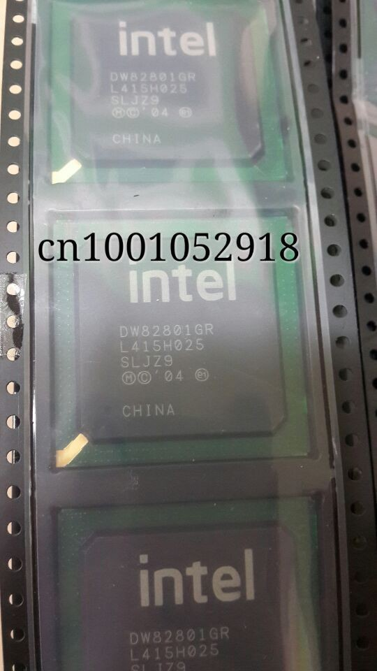 New original DW82801GR SLJZ9 BGA IC chips with ball in stock free shipping goods in stock