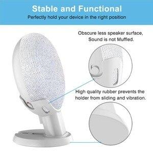 Image 4 - Nieuwe Desktop Stand Voor Google Thuis Mini Voice Assistenten, Compacte Houder Case Plug In Keuken Slaapkamer
