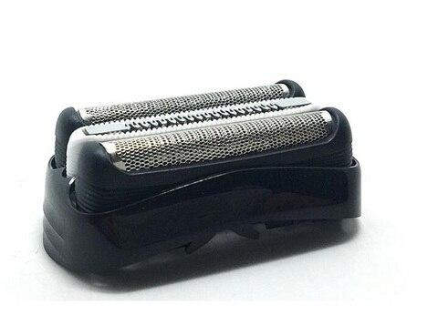 Cortador de Cabeça de Barbear Barbeador para Braun Grade de Malha Preto Foil Series 3000 3 320 330 340 380 390 3090cc 350cc s Cassete 32b &