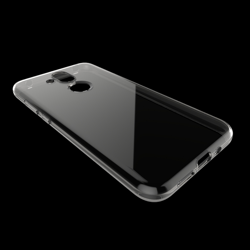 Skid-proof Soft TPU Transparent <font><b>Silicone</b></font> Clear <font><b>Case</b></font> Cover for <font><b>NOKIA</b></font> <font><b>8.1</b></font>/X7 image
