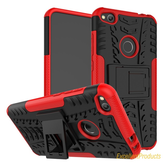 moda firmata 84f0c cc112 US $4.31 12% OFF|Aliexpress.com : Buy For Huawei P8 Lite 2017 Cover Soft  Silicon & Hard Plastic Skin Case For P8 Lite 2017 Telefono etui with Holder  ...