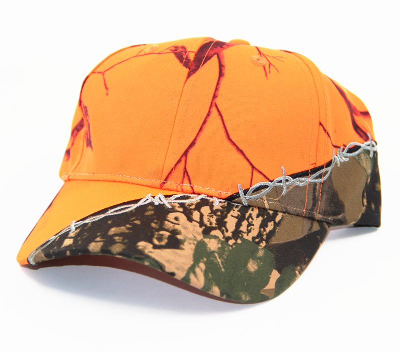 Orange Color Tree Camo Baseball Caps for Men and Women Outdoor Sports Cap Hunting Casquette Gorras Planas Visors Hats
