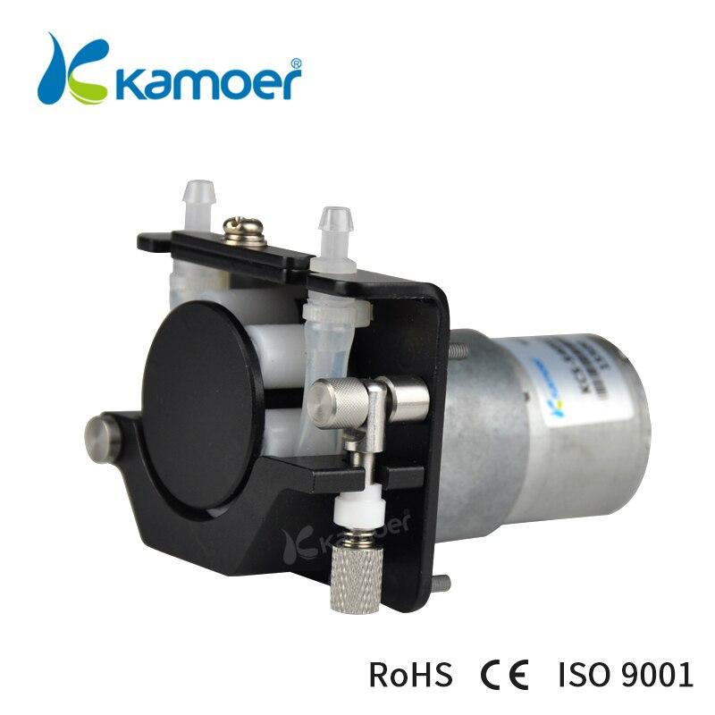 Kamoer KCS мини перистальтический Pump12V/24 V электрический маленький водяной дозирующий насос с двигателем постоянного тока (силиконовая трубка, т...
