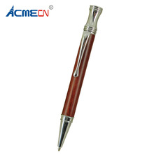 ACMECN Hight Quality Metal Wood Ballpoint Pen Pocket Size Writing Instruments Office & School Stationery Rosewood Ball Point