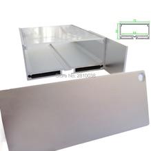 10 X 1M Sets/Lot U type Anodized LED profile housing Extruded Aluminium led strip light profile for pendant or suspension lights