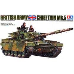 1:35 echelle Tamiya char militaire modèle britannique chef Mk.5 Kit de construction réservoir bricolage 35068