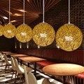 1 шт.  канделябр из пеньки и шпагата  художественная пасторальная ресторанная лампа  Балконная Люстра для коридора  креативное искусство из ...