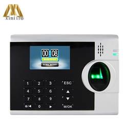 XM218 TCP/IP Фингерпринта с 3000 шаблонов емкости отпечатков пальцев биометрическая посещаемость устройства бесплатная доставка
