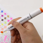 Mark Pen 168 Colors Double Headed Animation Design Mark Pen Paint Sketch Drawing Ink Marker Pen may15
