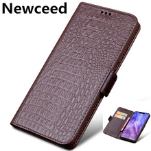 Genuine Leather Business Wallet Case Card Slot Holder Coque For Huawei Enjoy Max/Enjoy 9 Plus/Enjoy 8 Plus/Enjoy 7S Phone Cover enjoy