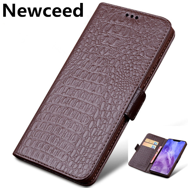 Genuine Leather Business Wallet Case Card Slot Holder Coque For Samsung Galaxy J8 2018/Galaxy J6 2018/Galaxy J4 2018 Phone Cover