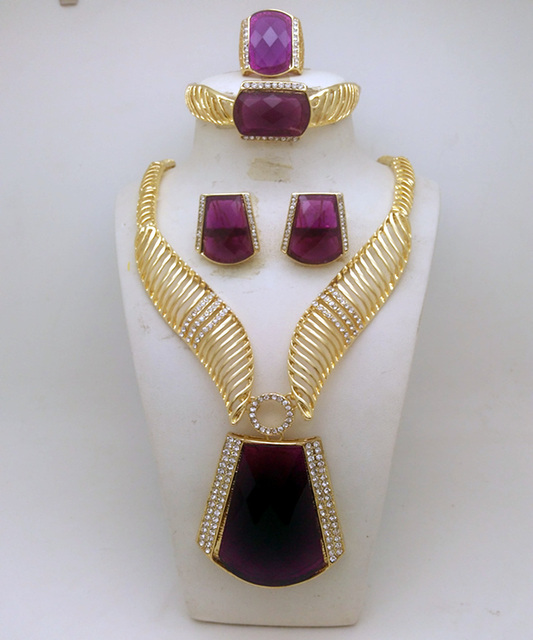 Livia-Gold-Plated-Jewelry-Sets