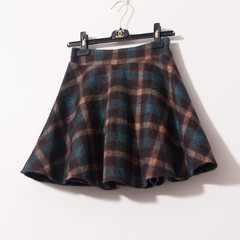Online Get Cheap Gray Plaid Skirt -Aliexpress.com | Alibaba Group