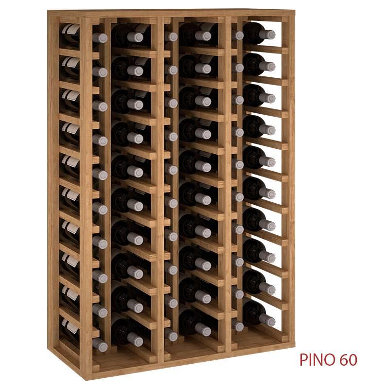 Botellero Vinoteca Para 60 Botellas